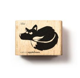 Stempel liggende vos