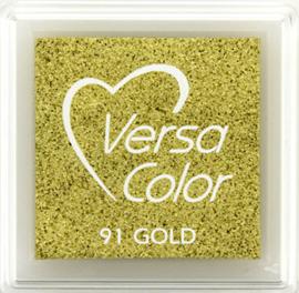 Versacolor |  91 GOLD  | Metallic Gouden stempelkussen
