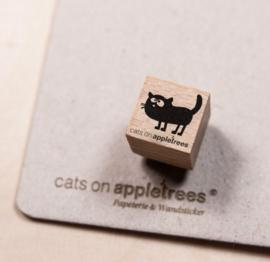 Mini stempeltje kat