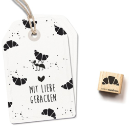Stempel croissant | Cats on appletrees | 2657