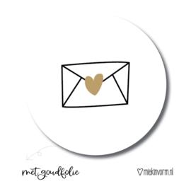 Sluitsticker envelopje