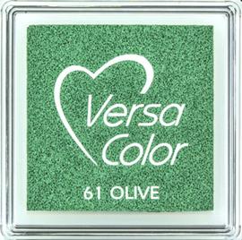 Versacolor |  61 OLIVE  | Groen stempelkussen