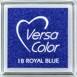 Versacolor | 18 ROYAL BLUE  | Blauw stempelkussen