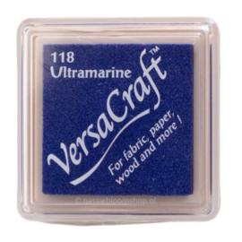 Versacraft Ultramarine blauw stempelkussen 118