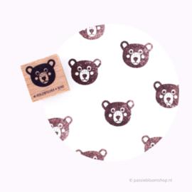 Stempel beer hoofdje
