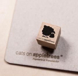 Stempel schaap klein | Cats on appletrees | 2854