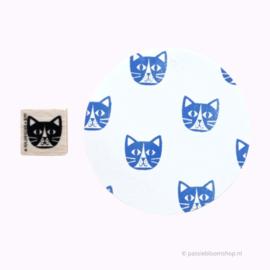 Stempel poes kat hoofdje
