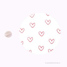 Mini stempeltje S | Hartje lijn