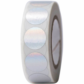 Washi tape iriserende stippen