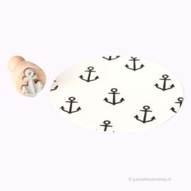 Mini stempel zee anker | M |