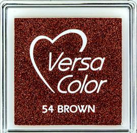 Versacolor |  54 BROWN  | Bruin stempelkussen