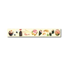Washi tape sushi eten