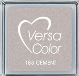 Versacolor cement grijs stempelkussen 183