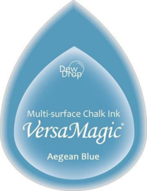Versamagic Aegean blue blauwe stempelinkt