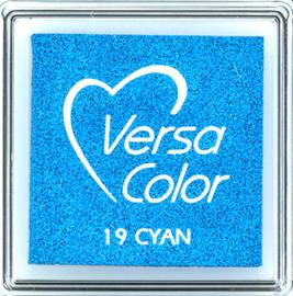 Versacolor |  19 CYAN  | Blauw stempelkussen