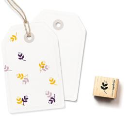 Mini stempeltje bloem takje | rechts