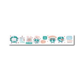 Washi tape Corona virus stationery