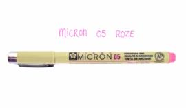 Fineliner Micron | 05 | Roze