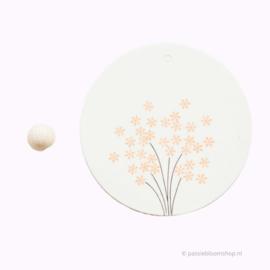 Mini stempeltje S | Klein bloemetje
