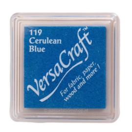 Stempelkussen Versacraft | BLAUW | Cerulean Blue