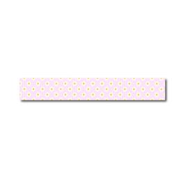 Washi tape roze madeliefjes