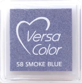 Versacolor smoke blue blauw stempelkussen 58