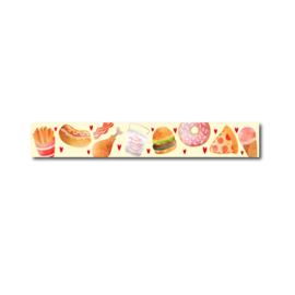 Washi tape fastfood eten