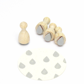 Mini stempel S | DRUPPEL | Vol