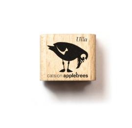 Mini stempel vogel Ulla