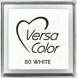 Versacolor |  80 WHITE  | Wit stempelkussen