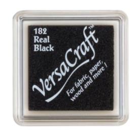 Stempelkussen Versacraft | ZWART | Real Black