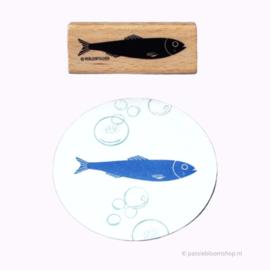Stempel haring vis