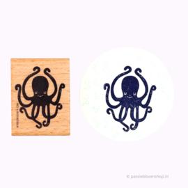 XL Stempel zee octopus inktvis