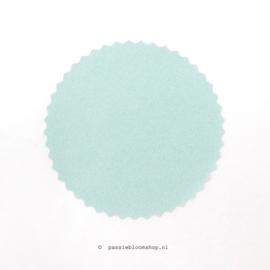 Sluitsticker rond Mint groen