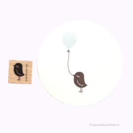 Stempel Hout | Vogeltje