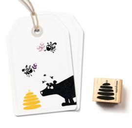 Stempel bijenkorf | Cats on appletrees | 2331