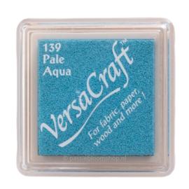 Stempelkussen Versacraft | BLAUW | Pale Aqua