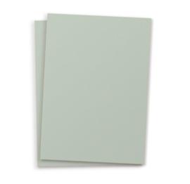 Blanco A6 postkaart licht groen