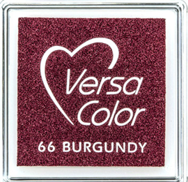 Versacolor |  66 BURGUNDY  | Rood stempelkussen