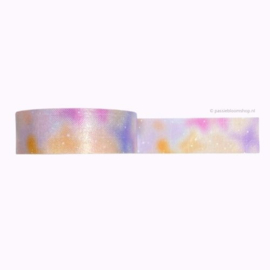 Washi tape pastel galaxy