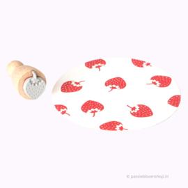 Mini stempel aardbei | M |