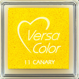 Versacolor |  11 CANARY  | Geel stempelkussen