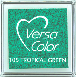 Versacolor |  105 TROPICAL GREEN  | Groen stempelkussen