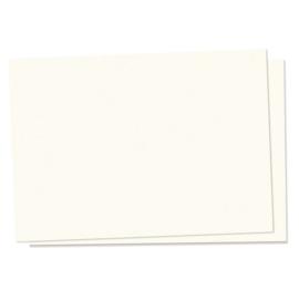 Egaal crème witte kaart om op te stempelen