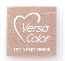 Versacolor Sand beige  Bruin stempelkussen 151