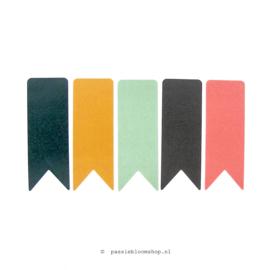 Stickers vlaggetjes wimpels