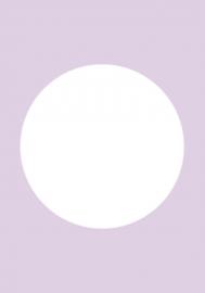 DIY blanco kaart pastel lila paars