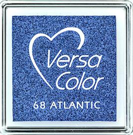 Versacolor | 68 ATLANTIC | Blauw stempelkussen