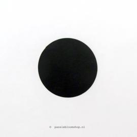 Sluitsticker rond krijtbord 2,5 cm
