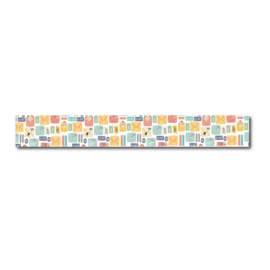 Washi tape enveloppen, by airmail